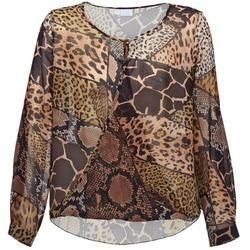 Textil Mulher Tops / Blusas Alba Moda ANINA Castanho