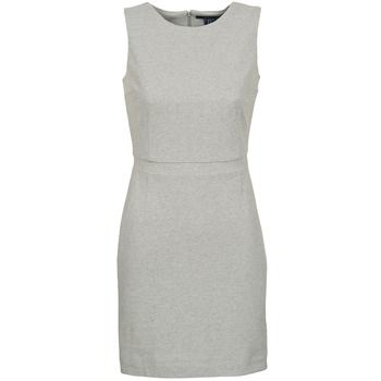 Textil Mulher Vestidos curtos Gant L. JERSEY PIQUE Cinza