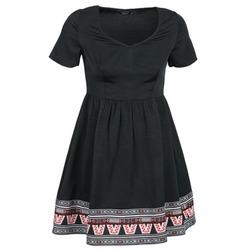 Textil Mulher Vestidos curtos Eleven Paris NANA Preto