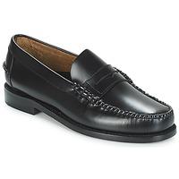 Sapatos Homem Mocassins Sebago CLASSIC PENNY BRUSHED Preto