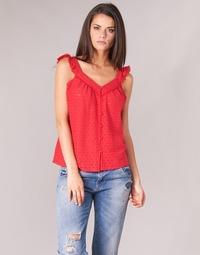 Textil Mulher Tops / Blusas Betty London KOCLA Vermelho