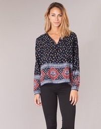 Textil Mulher Tops / Blusas Casual Attitude WASAS Preto / Multicolor