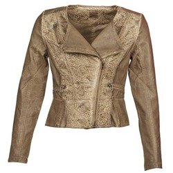 Textil Mulher Casacos de couro/imitação couro Cream LIL Toupeira