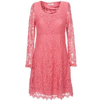 Textil Mulher Vestidos curtos Cream ANNEMON LACE Rosa