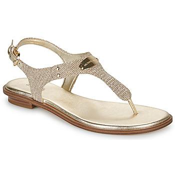 Sapatos Mulher Sandálias MICHAEL Michael Kors MK PLATE Dourado