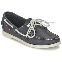 Sapatos Mulher Sapato de vela Sebago DOCKSIDES Azul