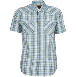 Textil Homem Camisas mangas curtas Levi's WOVENS Azul