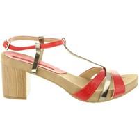 Sapatos Mulher Sandálias Maria Mare 66985 Rojo