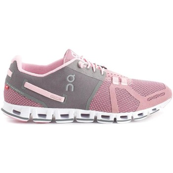 Sapatos Sapatilhas On Running ONCLOUD WOMAN CHARCOAL ROSE rosa