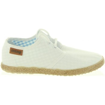 Sapatos Rapaz Alpargatas MTNG 47105 LANDY Blanco