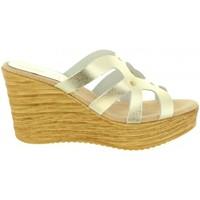 Sapatos Mulher Sandálias Cumbia 30986 Plateado