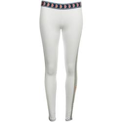 Textil Mulher Collants Ellesse Femme Legging Blanc Branco