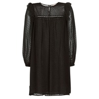 Textil Mulher Vestidos curtos Moony Mood BREYAT Preto