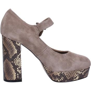 Sapatos Mulher Escarpim Emanuélle Vee BX385 Bege