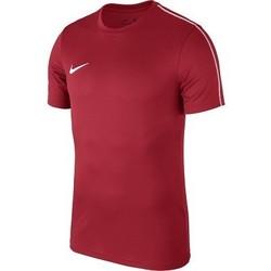 Textil Homem T-Shirt mangas curtas Nike Park 18 Vermelho