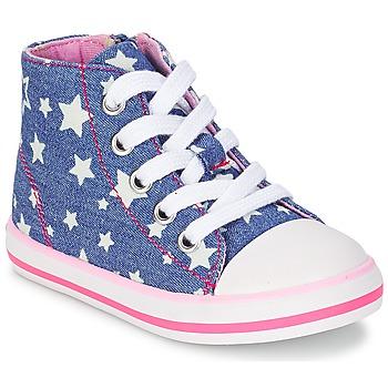 Sapatos Rapariga Sapatilhas de cano-alto Chicco CREMIXI Ganga / Estrela