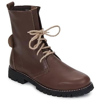 Sapatos Mulher Botas baixas Swamp BIKE Castanho