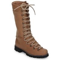Sapatos Mulher Botas baixas Swamp STIVALE LACCI Castanho / Claro