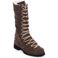 Sapatos Mulher Botas baixas Swamp STIVALE LACCI MONTONE Castanho / Escuro
