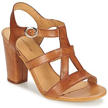 Sapatos Mulher Sandálias Casual Attitude OLILA Castanho
