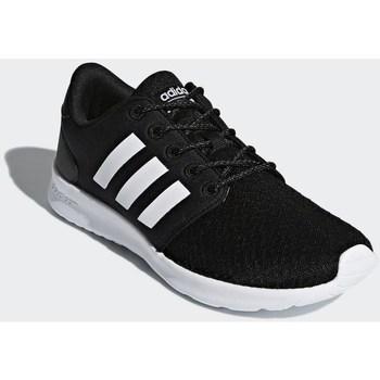 Sapatos Mulher Sapatilhas adidas Originals Cloudfoam QT Racer Branco, Preto