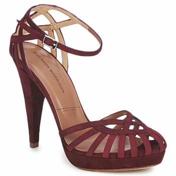 Sapatos Mulher Sandálias Sigerson Morrison CAMOSO Rum