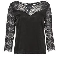 Textil Mulher Tops / Blusas Betty London JYRIAM Preto