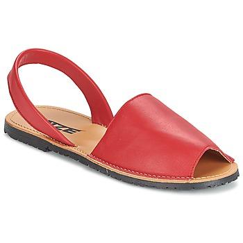 Sapatos Mulher Sandálias So Size LOJA Vermelho