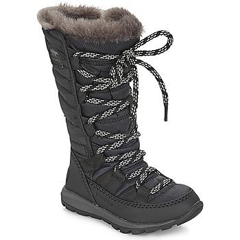 Sapatos Criança Botas de neve Sorel CHILDREN'S WHITNEY LACE Preto