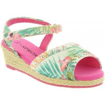 Sapatos Rapariga Alpargatas Sprox 273173-B4600 Rosa