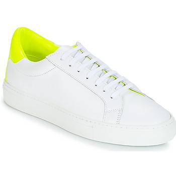 Sapatos Mulher Sapatilhas KLOM KEEP Branco / Amarelo