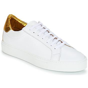 Sapatos Mulher Sapatilhas KLOM KEEP Branco / Dourado