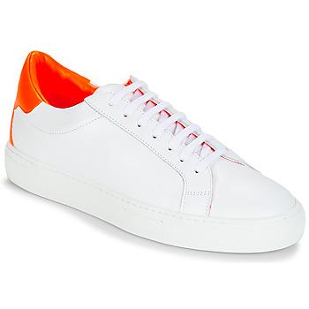Sapatos Mulher Sapatilhas KLOM KEEP Branco / Laranja