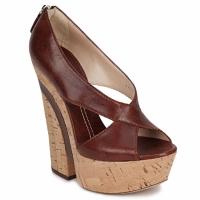 Sapatos Mulher Sandálias Casadei ELEANORE Castanho