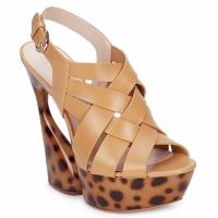 Sapatos Mulher Sandálias Casadei MAGGY Doce / Natural