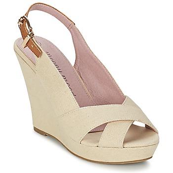 Sapatos Mulher Sandálias Moony Mood AKOLM Bege