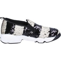Sapatos Mulher Slip on J. K. Acid Sneakers BX744 Branco