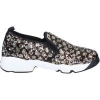 Sapatos Mulher Slip on J. K. Acid Sneakers BX746 Castanho