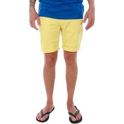 Textil Homem Shorts / Bermudas Jack & Jones 12136647 JJIRICK JJORIGINAL SHORTS KNIT AKM 481 CELANDINE Amarillo