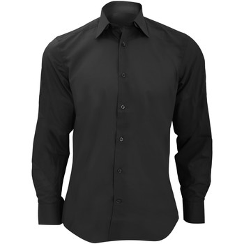 Textil Homem Camisas mangas comprida Russell 924M Preto