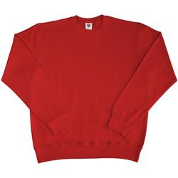 Textil Homem Sweats Sg SG20 Vermelho