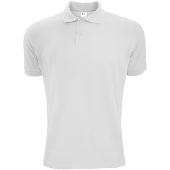 Textil Homem Polos mangas curta Sg Polycotton Branco