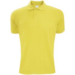Textil Homem Polos mangas curta Sg Polycotton Amarelo