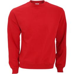 Textil Homem Sweats B And C WUI20 Vermelho