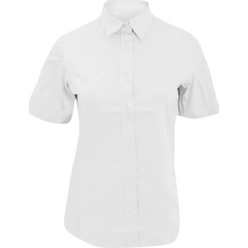 Textil Mulher Polos mangas curta Kustom Kit KK387 Branco