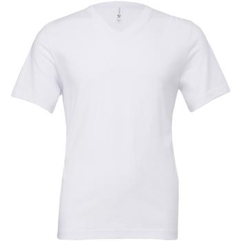 Textil Homem T-Shirt mangas curtas Bella + Canvas CA3005 Branco