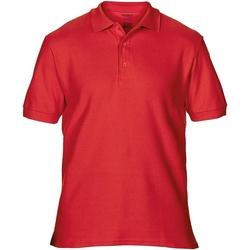 Textil Homem Polos mangas curta Gildan Premium Vermelho