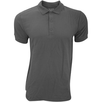 Textil Homem Polos mangas curta Gildan Premium Carvão vegetal