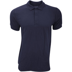 Textil Homem Polos mangas curta Gildan Premium Marinha