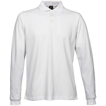 Textil Homem Polos mangas compridas Tee Jays TJ1406 Branco